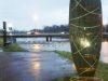 Mit Hilfe eines Sponsorenprojekts hat sich der Emsdeich bei Greven zu einem sehenswerten Kunststandort gemausert