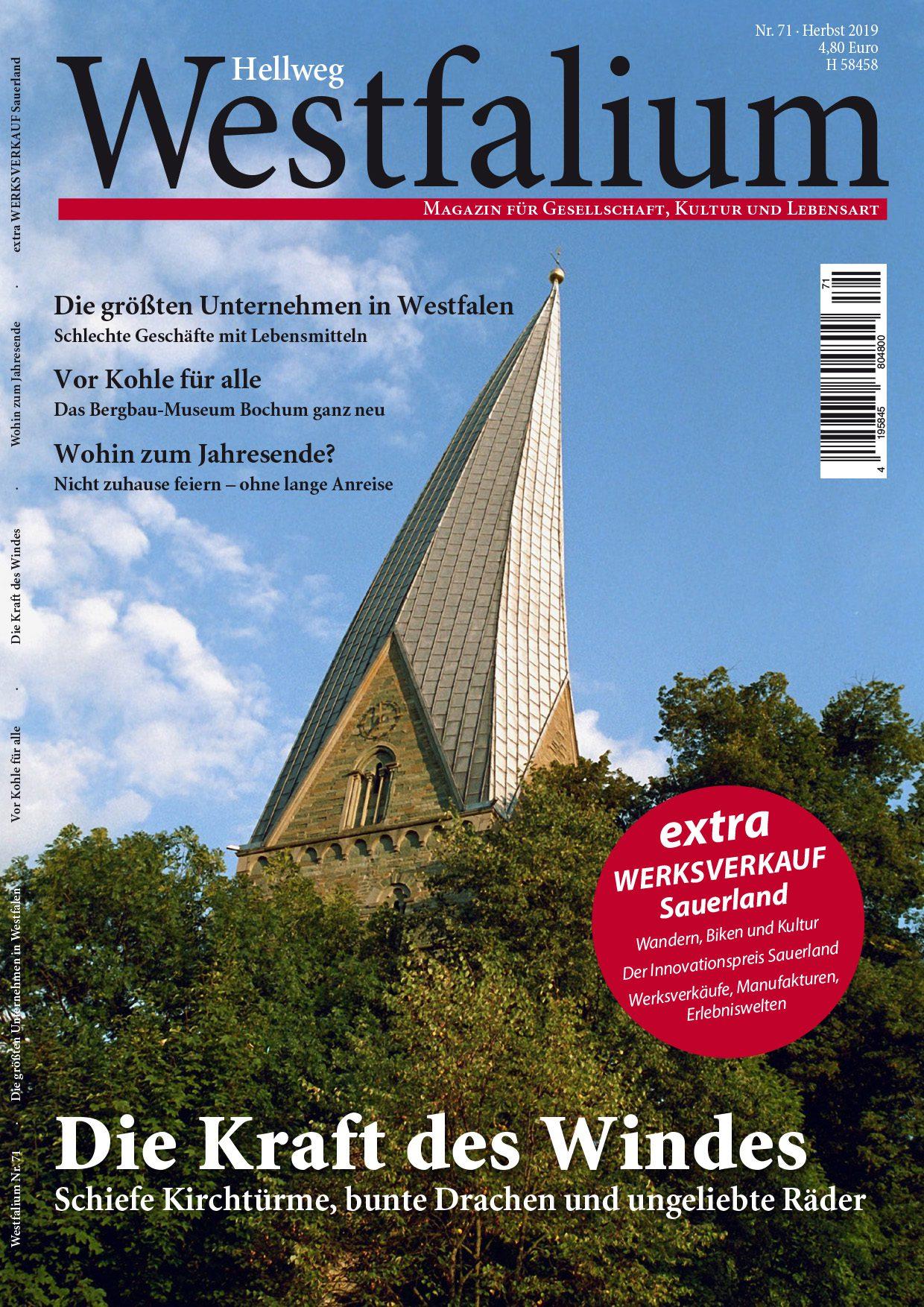 Westfalium Herbst 2019 - Teilausgabe Hellweg
