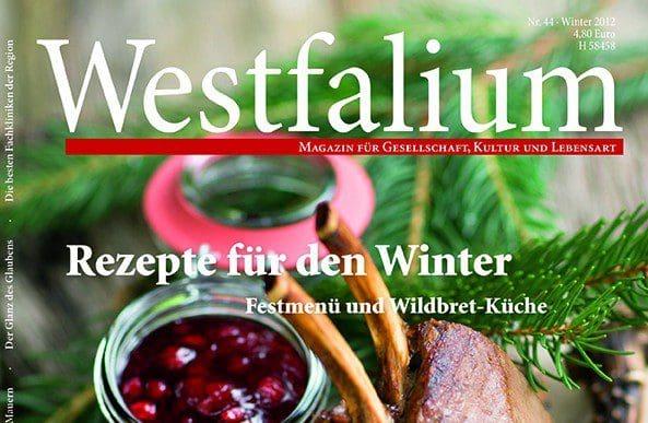 Die neue Westfalium-Ausgabe – am 8. November im Zeitschriftenhandel