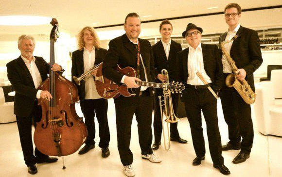 Ebenfalls heiss erwartet: Die Sazerac Swingers - Foto: Jazz & Blues Party Paderborn