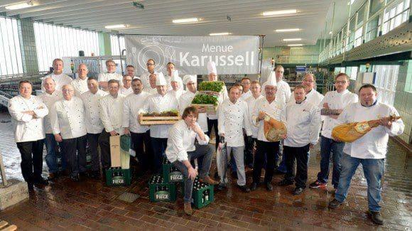 Köche von 31 Restaurants beteiligen sich am Menue-Karussell. - Foto: Stefan Kuhn