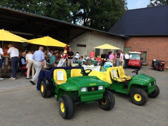 Mit einem zünftigen Grillfest klang das Turnier aus. - Foto: Golfclub Gütersloh