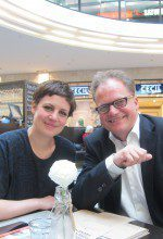 Judith Helmrich und Klaus Friedrich Helmrich in Holstein's Brasserie