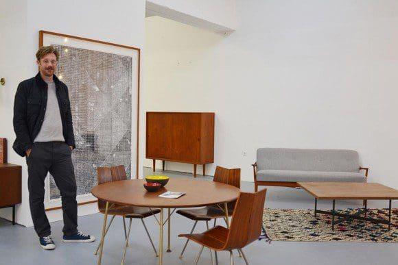 """Neben Möbeln des 18. und 19. Jahrhunderts zeigt die """"Art & Antik Messe Münster"""" in einer Sonderausstellung auch moderne Klassiker der Inneneinrichtung. Dafür wurde Heinrich Lerch gewonnen, der sich mit Adore Modern auf Designermöbel spezialisiert hat. Foto: Messe und Congress Centrum Halle Münsterland"""