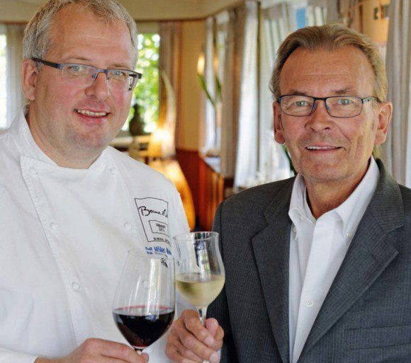 Der langjährige Küchenchef mit Patron Wim Schewe