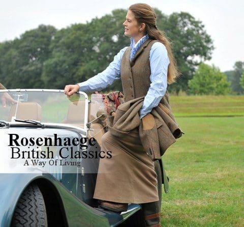 Englische Mode auf Rosenhaege im British Shop