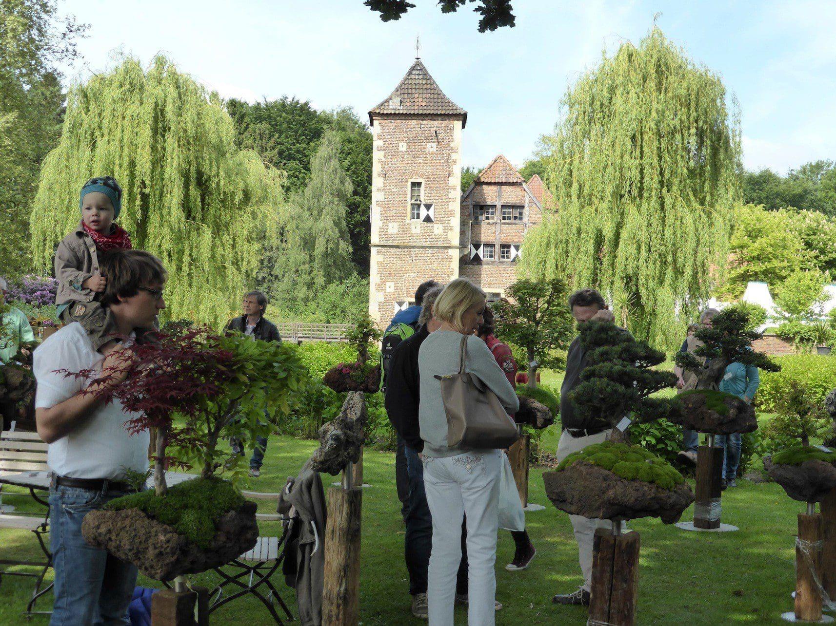 Feste in Gärten und Parks, Schlossfeste, Burg Hülshoff, Gartenträume, Hedera & Bux