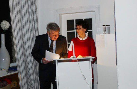 Dr. Gudrun Beckmann-Kircher und Peter Salmann