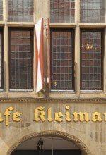Münster: Café Kleimann noch bis 31. März geöffnet