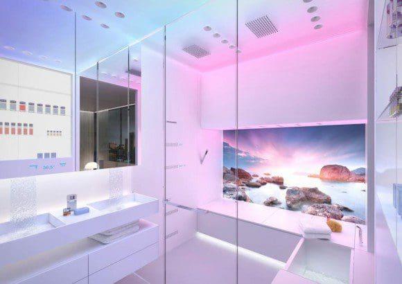 Das Luxusbad auf kleinstem Raum von Sieger Design - Fotos: Sieger Design