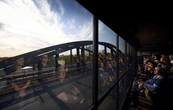 Wie im Kino: Das städtische Leben wird zu einem besonderen Film beim Projekt Truck Tracks Ruhr