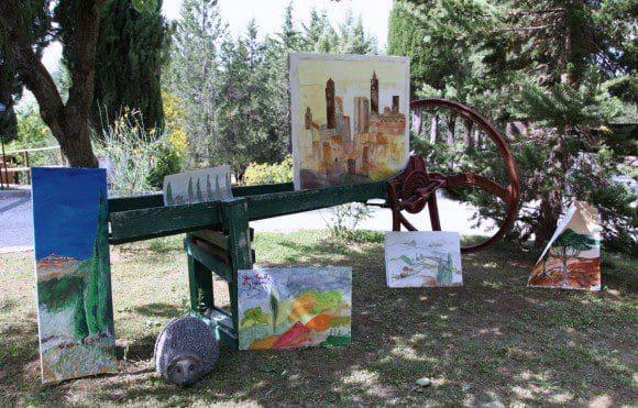 Toskana-Workshop vom Kunstatelier Andreas Alba