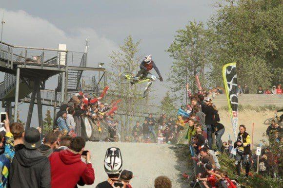 Whip-off-contest im Bikepark