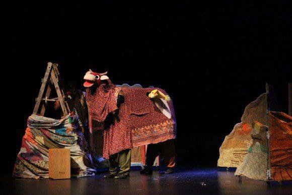"""Théâtre Libanais de Marionnettes & KHAYAL – Arts and Education (Libanon): """"Es soll Küken regnen"""""""