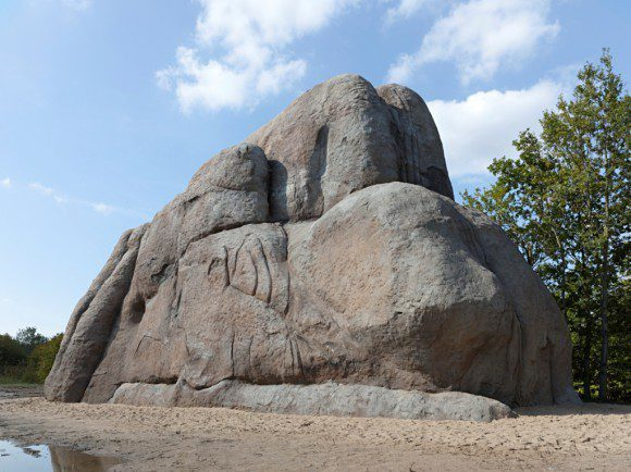 Der singende Fels - Foto: Roman Mensing/Emscherkunst
