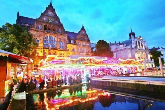 Der Leineweber-Markt gehört zu den größten und schönsten Stadtfeste in Ostwestfalen-Lippe. - Foto: Bielefeld Marketing