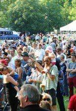 Zu Pfingsten: Parkfestival in Bad Lippspringe
