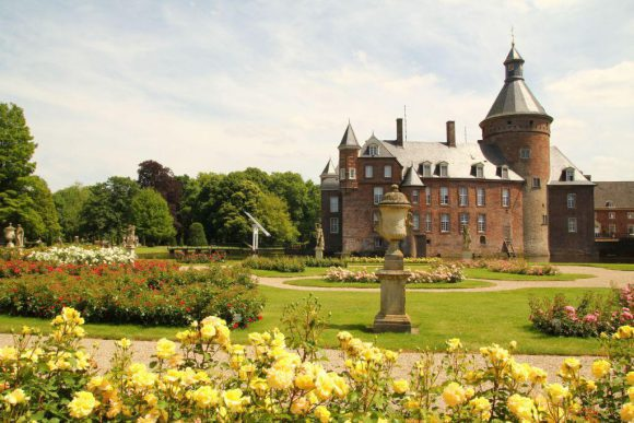 Schloss Anhold bietet eine wunderbare Kulisse für das Eröffnungskonzert