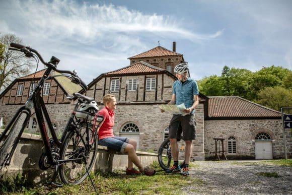 Die Luisenhütte lädt zum Verweilen ein, Foto:Sauerland-Radwelt Dennis Stratmann