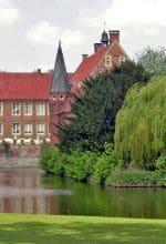 Durch den Park der Burg Hülshoff