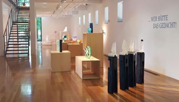Viele tolle Glasobjekte sind zu sehen