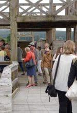 Römerbaustelle Aliso ist ein Besuchermagnet