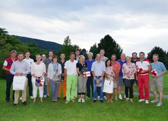 Die Sieger des diesjährigen Falke Golf-Marathons im Golfclub Schmallenberg