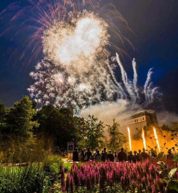 Feuerwerk in Hamm - Foto: Thomas Gawel