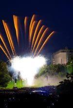 Hamm: Feuerwerk über dem Glaselefanten