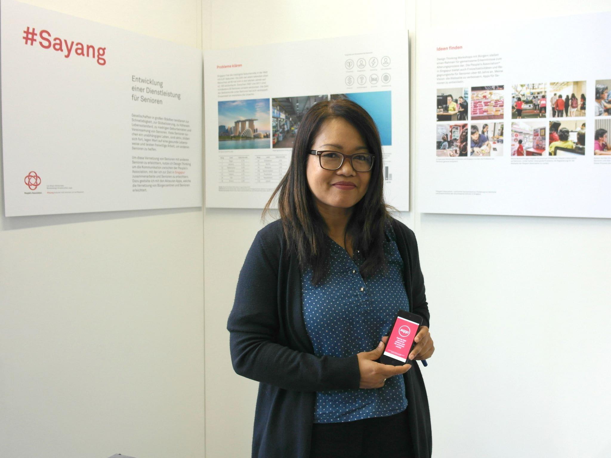 """Halimah Shaari-Stratomeier entwickelte die Senioren-App """"Sayang"""""""