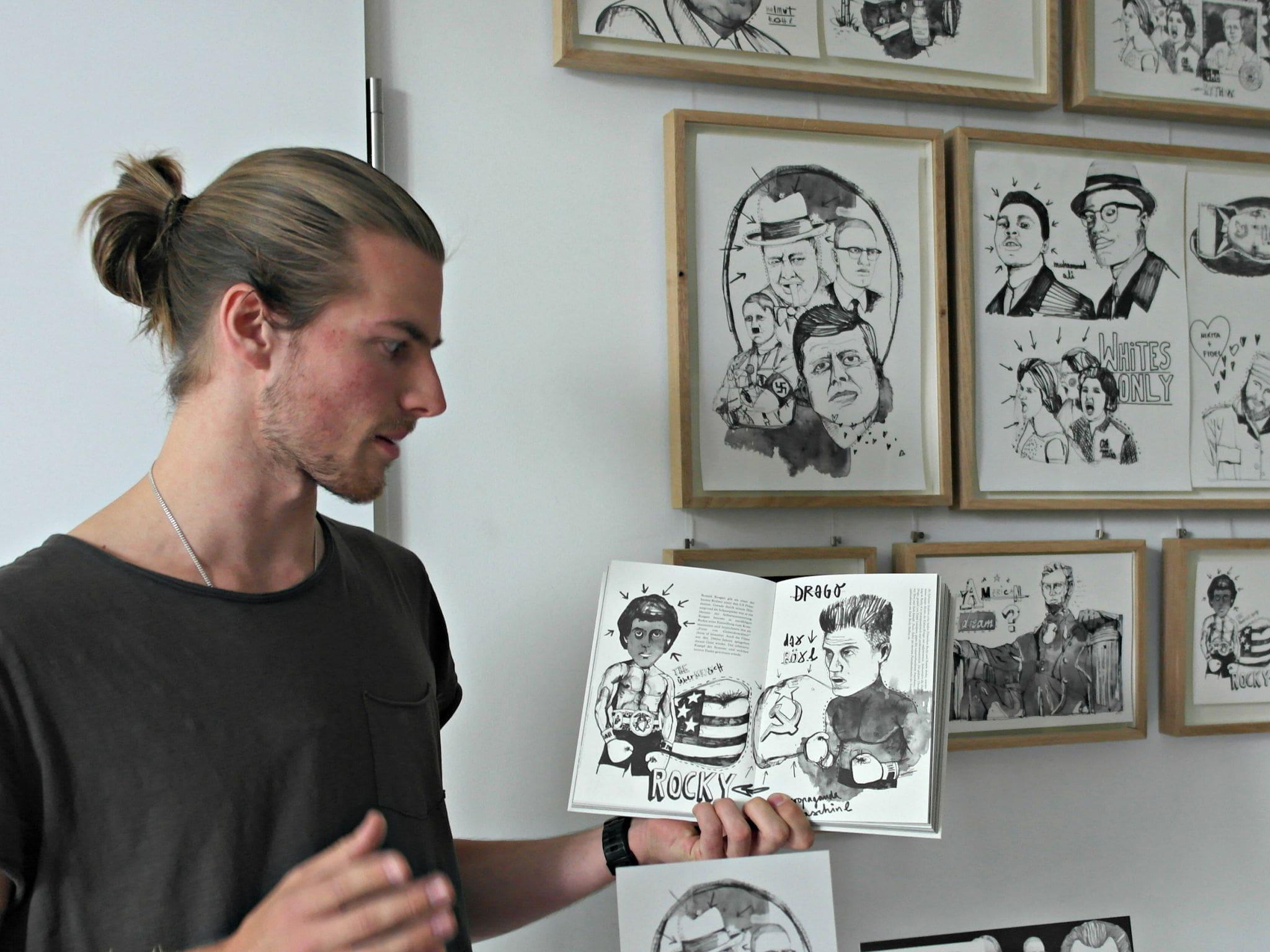 """Lennart Foppe hat sich in seinem Buch """"Power of Speech"""" illustrativ mit zehn Reden der Weltgeschichte auseinander gesetzt"""