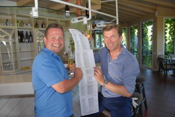 2.Frank Cramer und Andreas Deimann freuten sich über das große Teilnehmerfeld.
