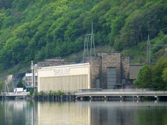 """Koepchenwerk Jörg Hartmann (""""Dortmund-Tatort"""") kämpfen für den Erhalt des Denkmals, das 1930 als eines der ersten Pumpspeicherkraftwerke Europas in Betrieb ging."""