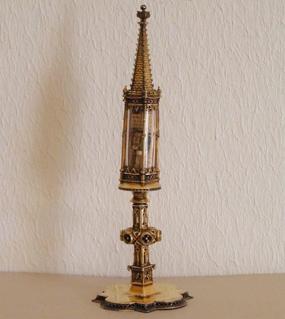 Das Turmreliquiar der Benektinerabtei Gerleve. Billerbeck, Benediktinerabtei Gerleve - Foto: P. Bartholomäus Denz OSB