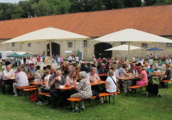 Jubiläum: Die Stiftung Kloster Dalheim. LWL-Landesmuseum für Klosterkultur feiert 2016 15 Jahre Klostermarkt. Foto: LWL/Tillmann