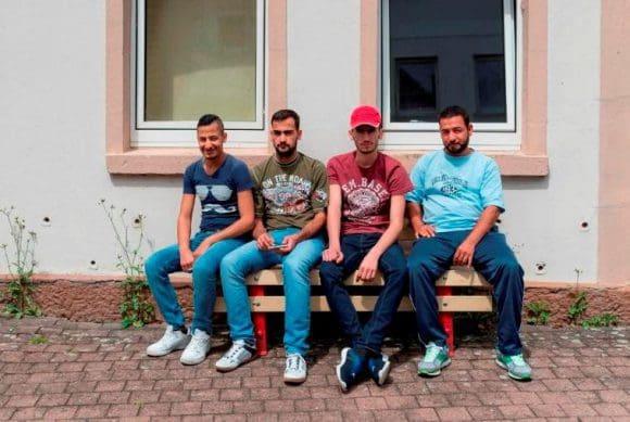 """Die Arbeiten sind Teil des Projektes """"Heimatwerker"""", das von der Landesinitiative StadtBauKultur NRW auf den Weg gebracht wurde, und einen Beitrag zur Integration von Zugereisten leisten soll."""