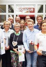 GC Ahaus: Clubmeister geehrt