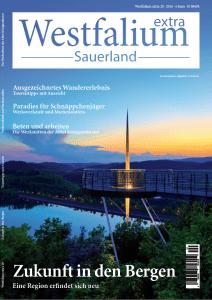 Titel Westfalium extra Sauerland