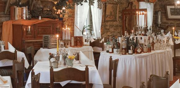 Das Waldrestaurant Zur Steinkiste für seine exzellenten Wildgerichte bekannt - Fotos: Waldrestaurant Zur Steinkiste