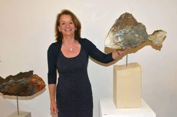 Anne Huster hat ein besonderes Faible für Steine entwickelt, die sie auf der ganzen Welt findet.