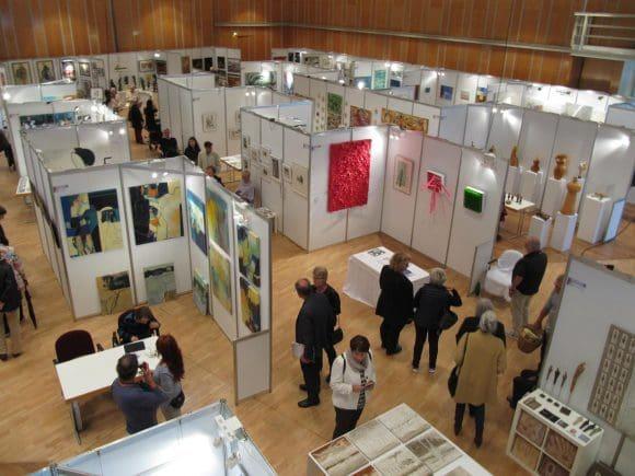 Neben 70 Künstlern und einige Galerien war auch die Otmar-Alt-Stiftung aus Hamm mit drei ihrer Stipendiaten vertreten.