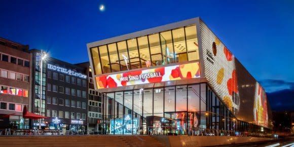 Das Deutsche Fußballmuseum in Dortmund feiert in dieser Woche Geburtstag - Foto: Deutsches Fußballmuseum