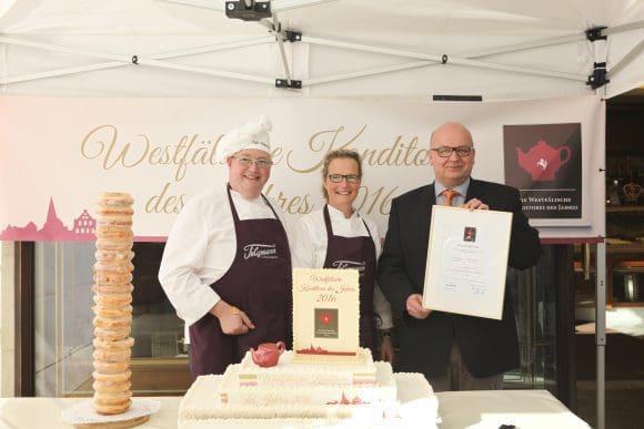 Die Westfälische Konditorei des Jahres 2016 - Café Telgmann in Werne