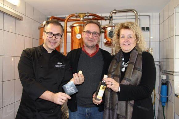 Markus Podzimek, Hans-Peter Hasenstab, Roswitha Still - Foto: Melanie Heider, TOP-Magazin Siegen
