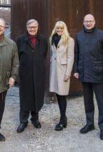 Münster: Richard Serras Skulptur an neuem Ort
