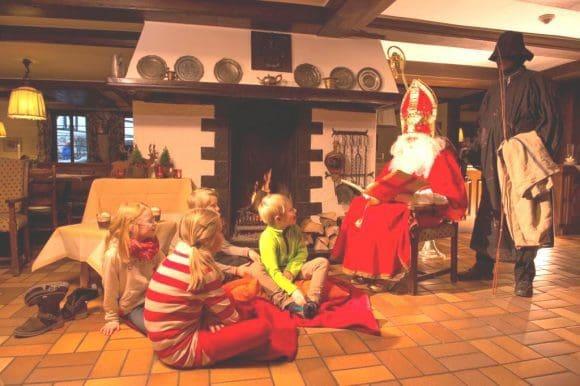 Der Weihnachtsmann im Sauerland