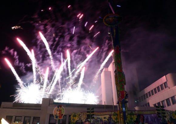Großes Feuerwerk zum Andreasmarkt in Rheda - Fotos: Benthien