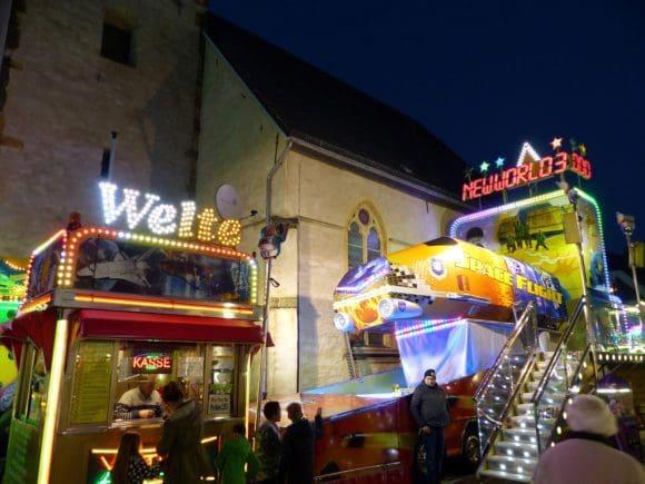 Zum Andreasmarkt werden viele Attraktionen in Rheda erwartet