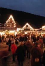 Weihnachtsmarkt im LWL-Freilichtmuseum Hagen