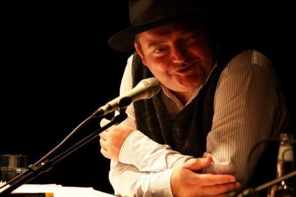 Auch Wigalf Droste weiß sein Publikum durch seine Sprache mitzureißen